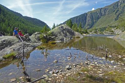 Am Grünsee im UNESCO-Weltnaturerbe Aletsch