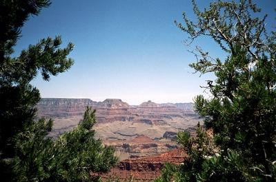 Grand Canyon - schön gerahmt