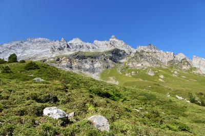 Balmhorn (3698 m) und Altels (3629 m)