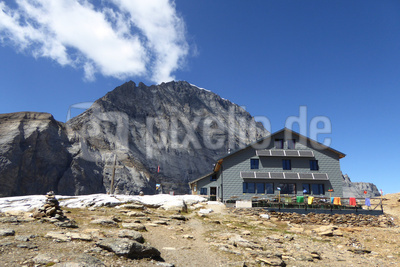 Lötschenhütte auf 2690 m