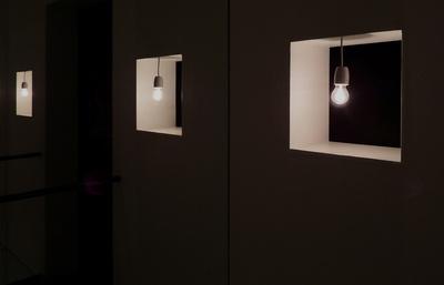 ausgediente Glühbirne im Museum