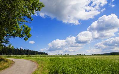 Ausfahrt ins Grüne