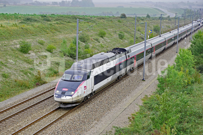 TGV-Nord Doppeleinheit . . . .