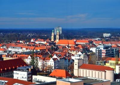 die Dächer von Erlangen