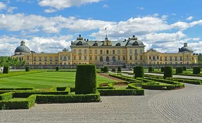 Schloss Drottningholm - Parkseiteseite