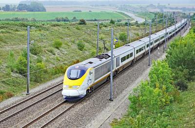 Eurostar-Zug . . . .
