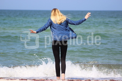 Strandspaziergang mit Lou