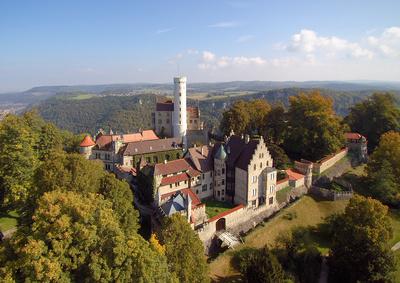 Schloss Lichtenstein - Gesamtansicht