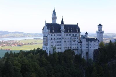 Schloss Neuschwanstein am Morgen