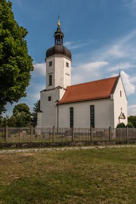 Dorfkirche Rehbach bei Leipzig
