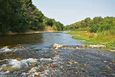Wenig Wasser in Südfrankreich