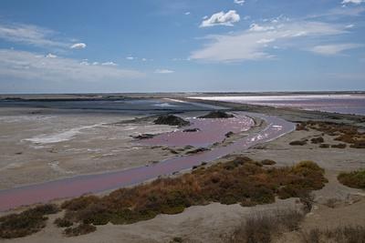 Salzgewinnung in der Camargue