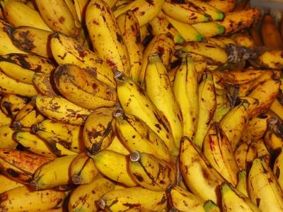 Bananen vom Markt