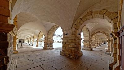 Arkaden des Schlosses Friedenstein
