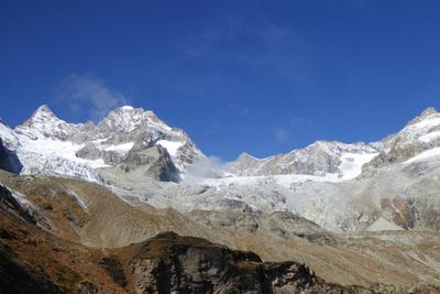 Höhenwanderung in den Walliser Alpen