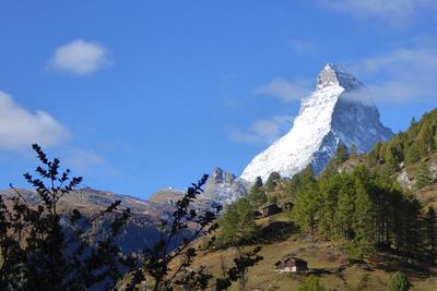 Matterhorn im frühen Herbst