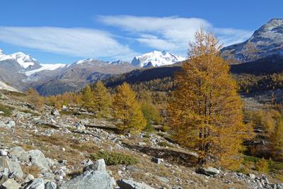 Oktober in den Bergen