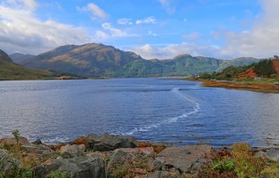 Loch Cluanie, Schottland, Oktober 2017