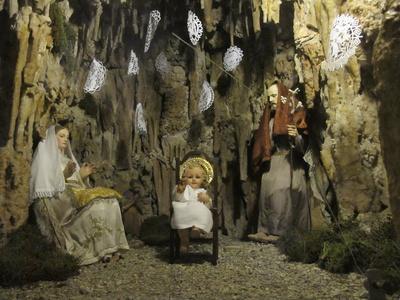 Weihnachtskrippe Mallorca
