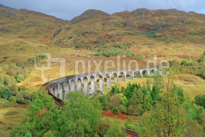 Glenfinnan-Viadukt in den West Highlands
