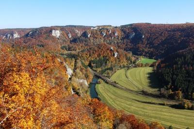 Herbst im Oberen Donautal 1