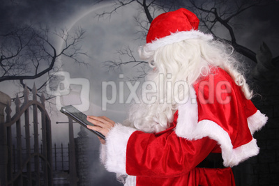 Der Weihnachtsmann ist online