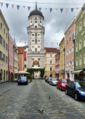 Hauptstrasse in Burghausen