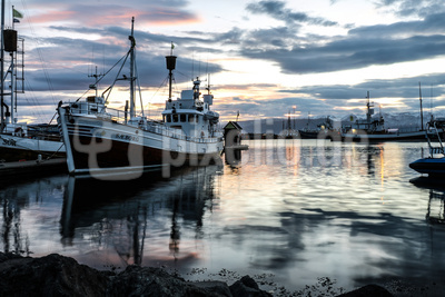 Iceland Húsavík Harbor