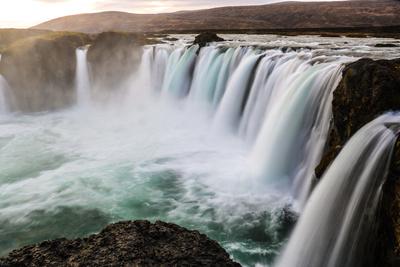 Iceland Goðafoss Waterfall