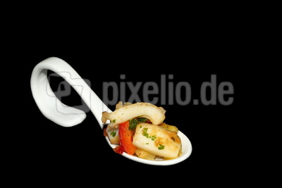Kalamar Kartoffel Gemüse