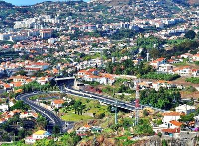 Strassen in Funchal