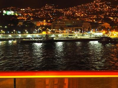 Panorama nächtliches Funchal