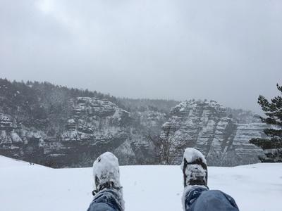 winterliches Gipfelglück