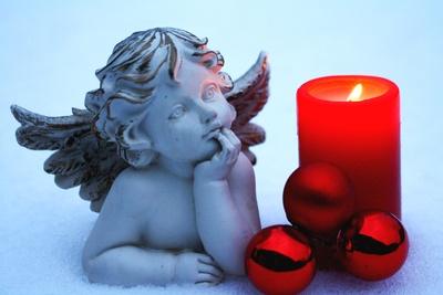 Kerzenlicht und Engelchen