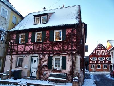 kleines altes Fachwerkhaus