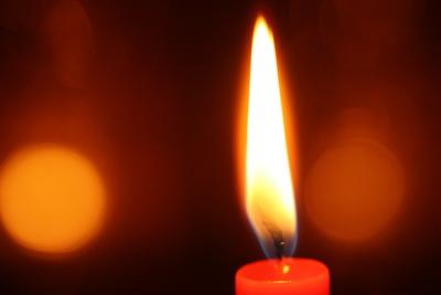 Warmes Kerzenlicht