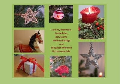 Friedvolle Weihnachten