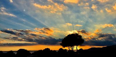 Sundown bei Alcanada