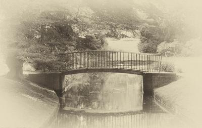 Brücke in Benrath