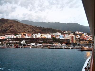 Ankunft in Santa Cruz, La Palma