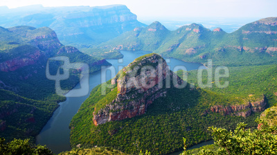 Blick auf den Blyde River Canyon in Südafrika