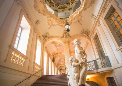Residenz Rastatt - Aufgang zur Beletage