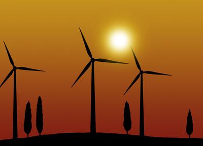 Windkraft, Windräder