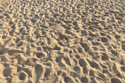Fußspuren Strand