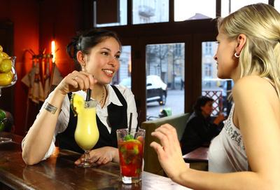 Cocktails genießen