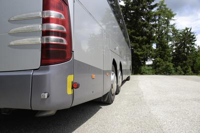 Bus, Omnibus, Autobus, geparkt, abgestellt