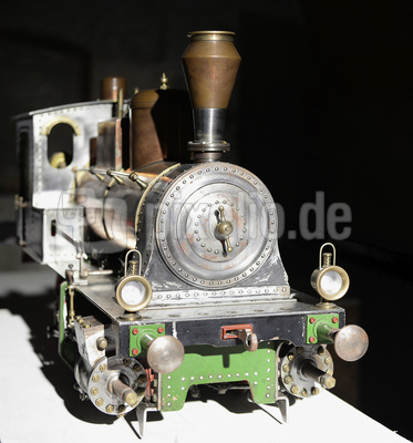 Dampflokomotive, Eisenbahnmodell