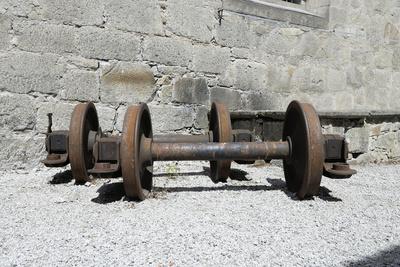 Eisenbahnräder, Radsatz