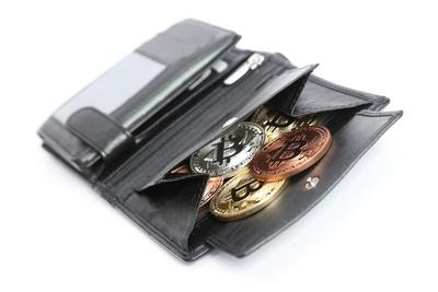 Geldbörse der Zukunft