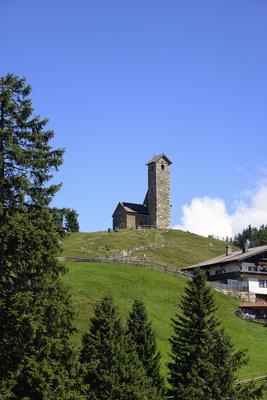 Vigiljoch, Südtirol, Kirchlein